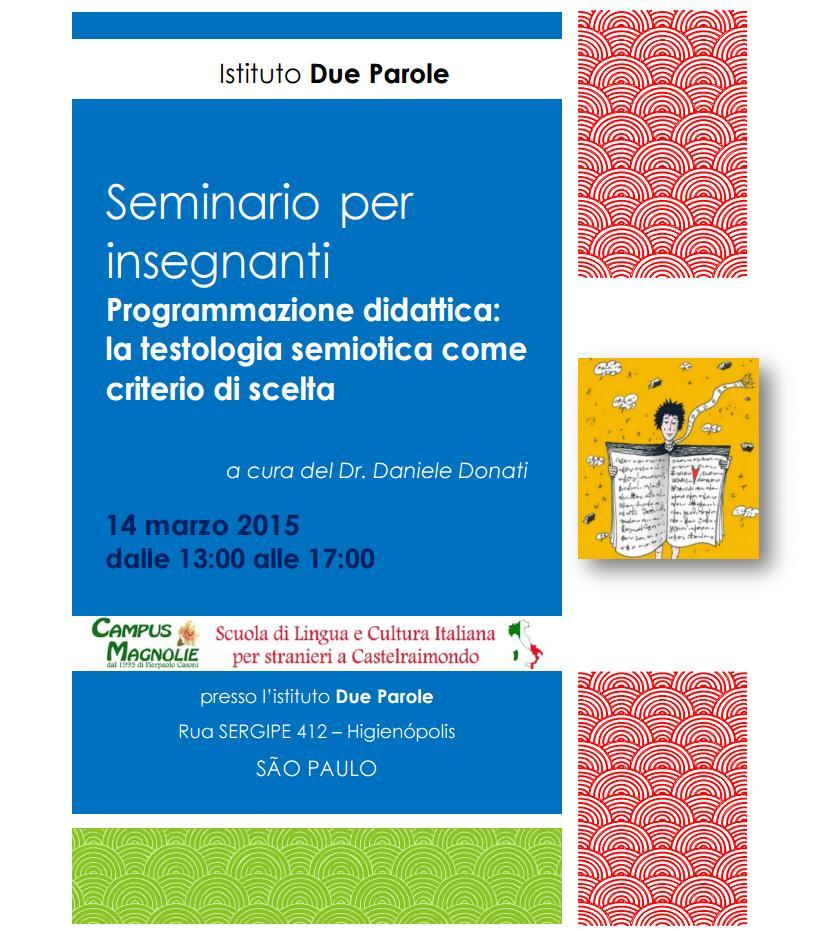 Seminario sulla formazione per insegnanti a San Paolo