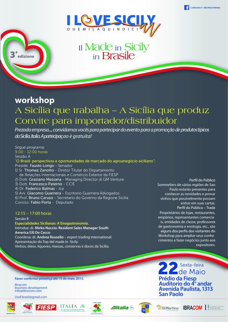 workshop per importatori e distributori