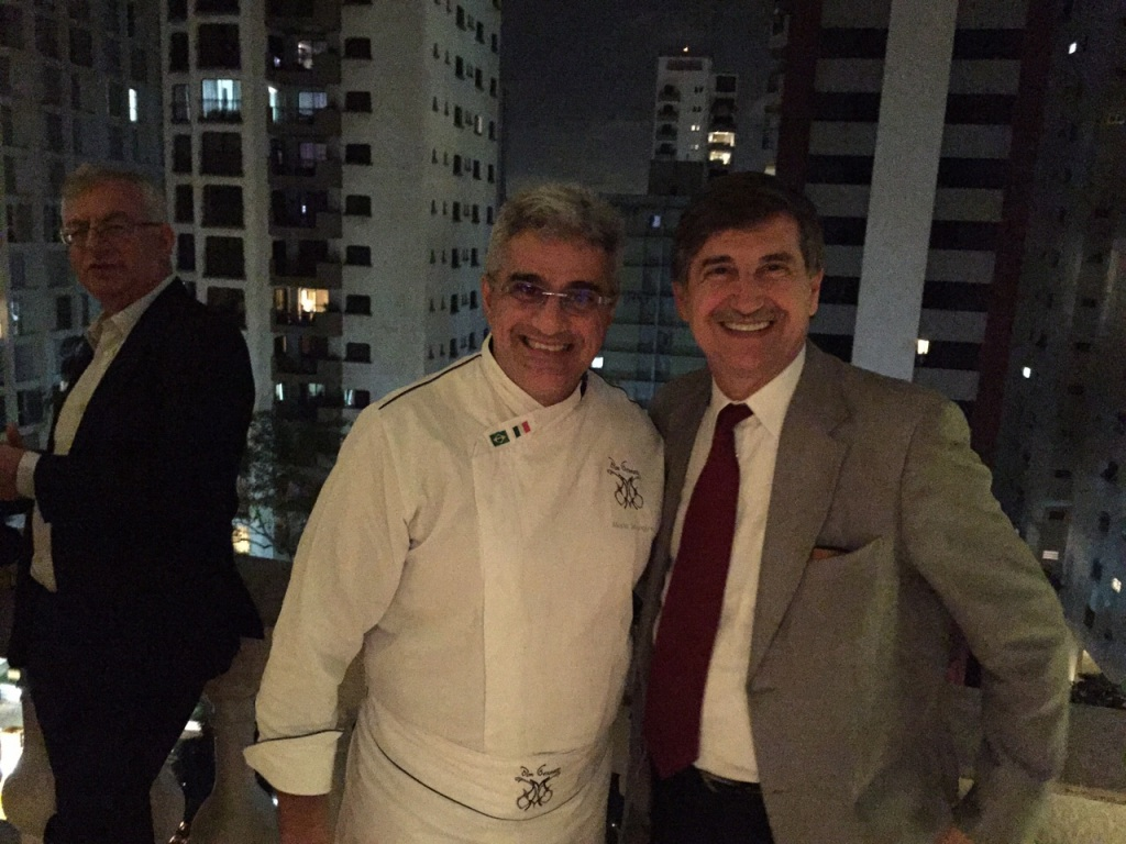 Senatore Longo con Chef Mangone