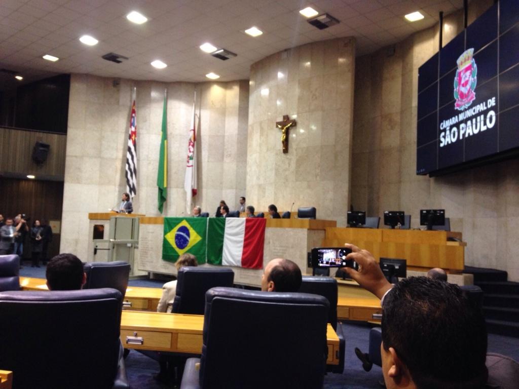 Laura Boldrini interviene a San Paolo