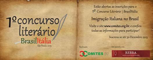 concorso letterario Brasile Italia