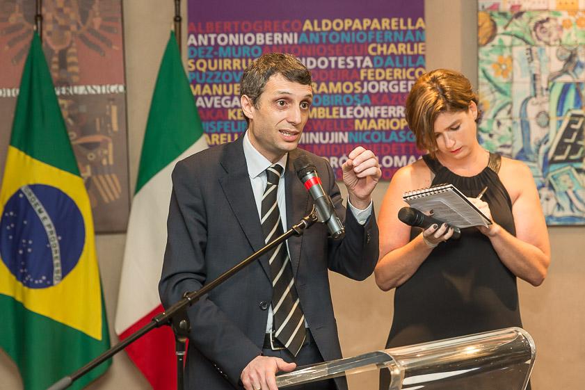 Eugenio Marino con Carla Luzzati Sidi