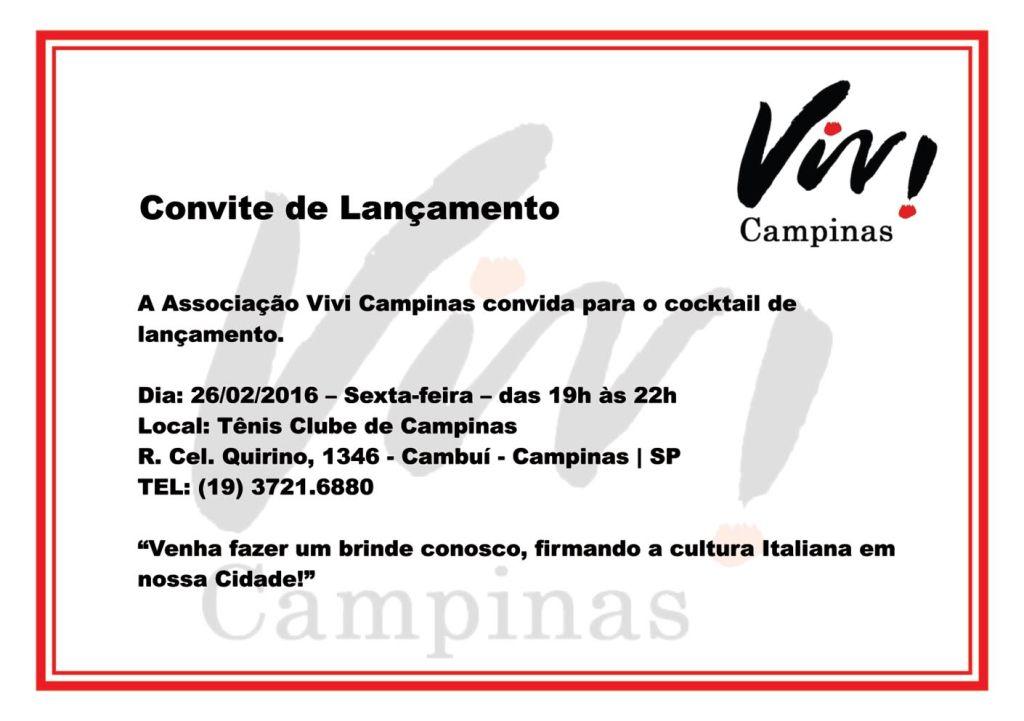 VIVI CAMPINAS convite