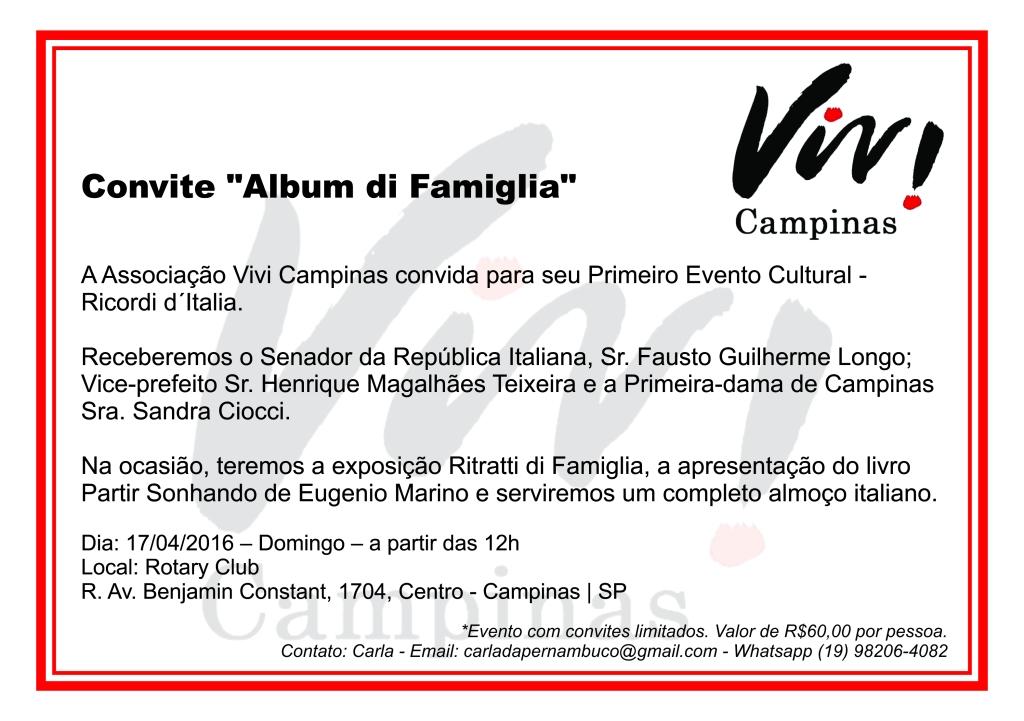 Convite Vivi Campinas